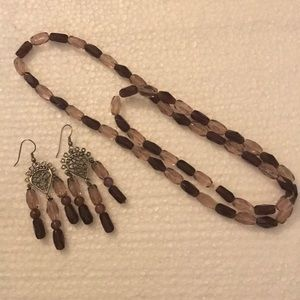 Jewelry - Necklace and earring